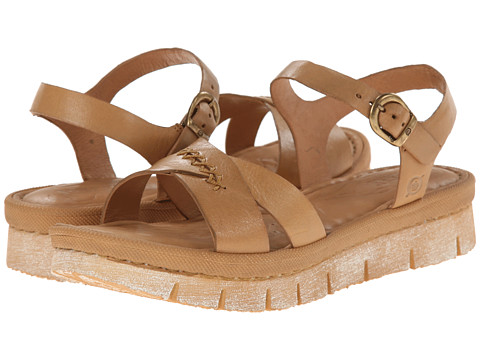 Born - Halona (Arena (Tan) Full-Grain Leather) Women