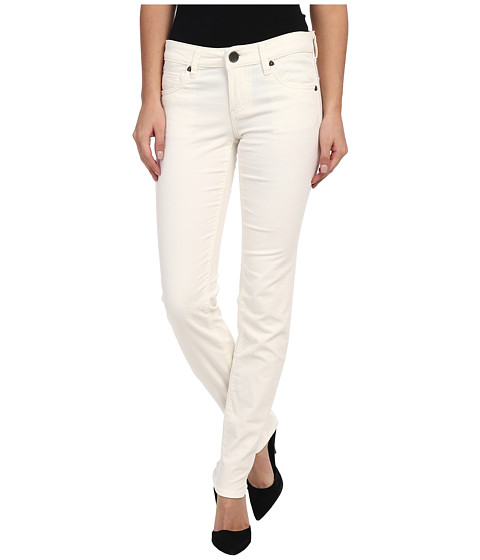KUT from the Kloth - Diana Cord Skinny in Ivory (Ivory) Women