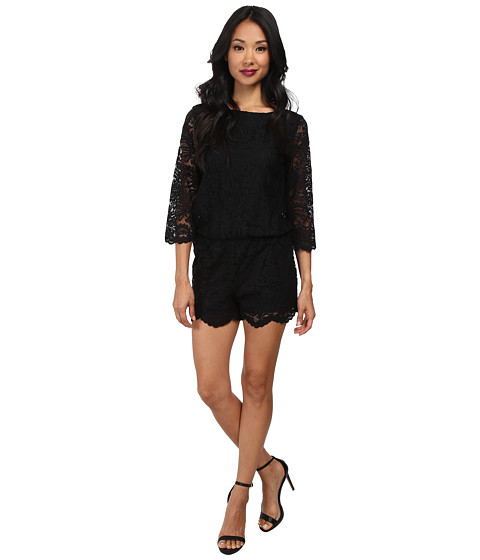 Michael Stars - Lace Romper (Black) Women