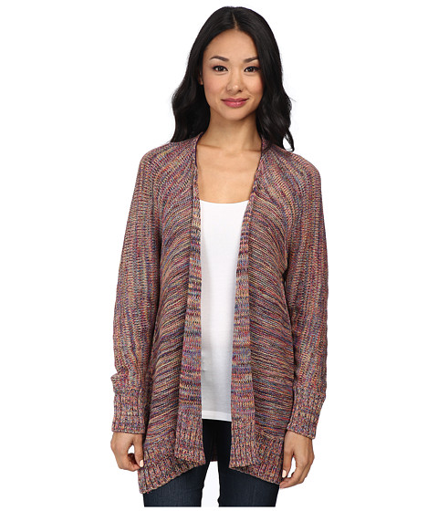 Michael Stars - Melange Knit Open Cardigan (Rainbow) Women's Sweater
