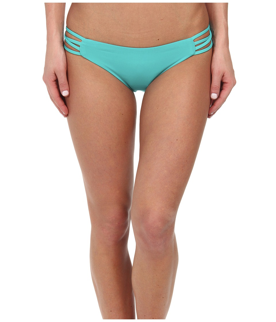 L*Space - Low Down Classic Bottom (Peacock) Women's Swimwear