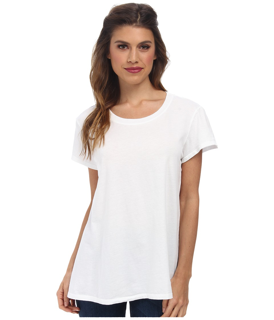Michael Stars - Dream Tees Short Sleeve Crew (White) Women