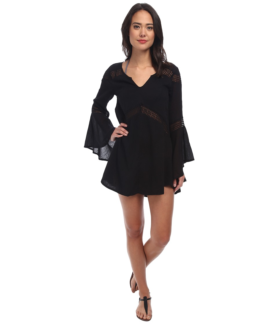 L*Space - Bloomfield Tunic Cover-Up (Black) Women's Swimwear