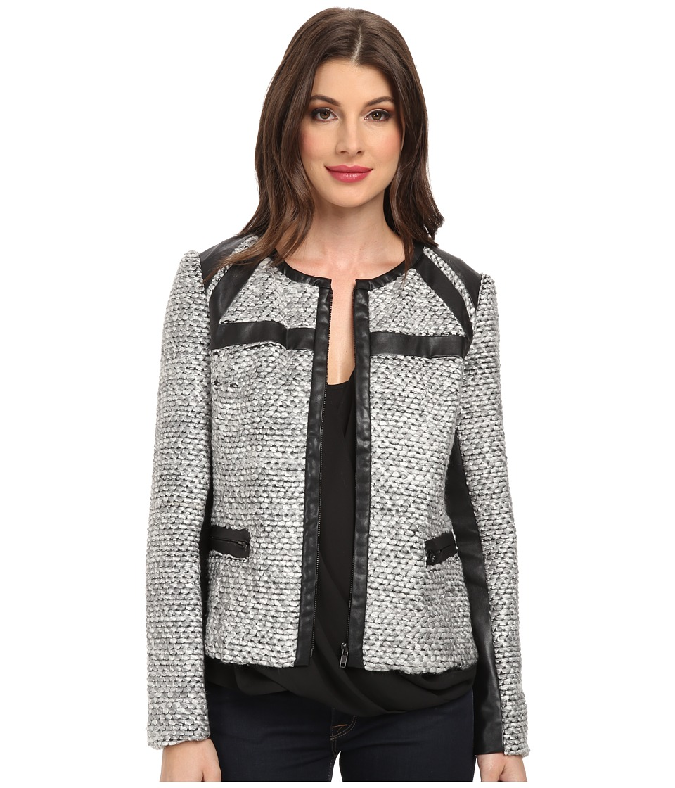 KUT from the Kloth - Brandon (Black/White) Women's Coat