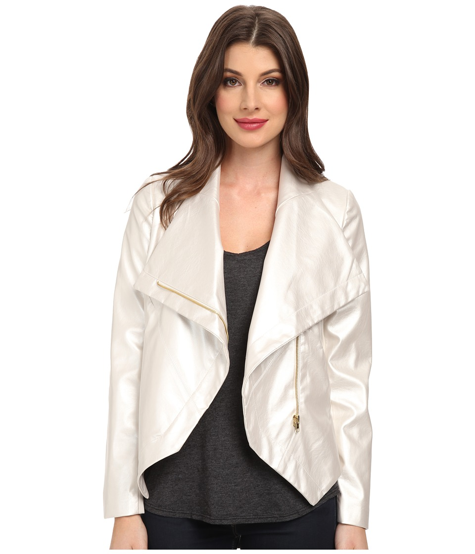 KUT from the Kloth - Cami Jacket (Pearl) Women's Coat
