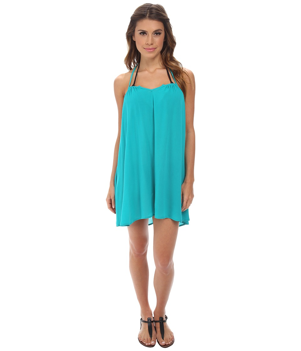 L*Space - Drifter Tunic Cover-Up (Peacock) Women's Swimwear