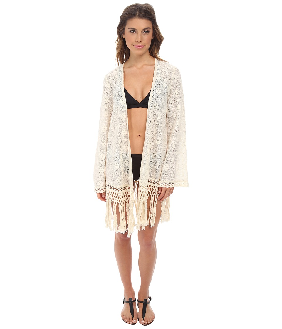 L*Space - Flynn Cover-Up (Natural) Women's Swimwear