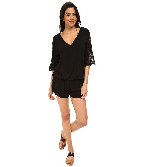 L*Space - Mali Romper (Black) Women's Swimwear