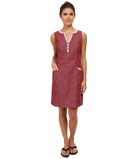 Royal Robbins - Strider Stretch Dress (Black Cherry) Women