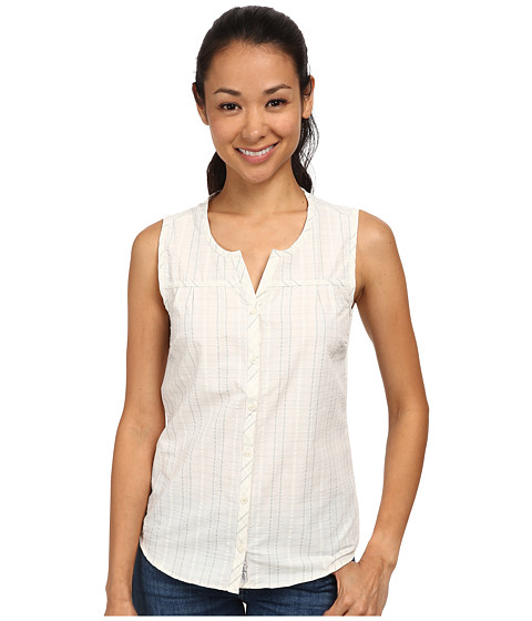 Toad&Co - Lightness Sleeveless Shirt (Egret) Women's Sleeveless