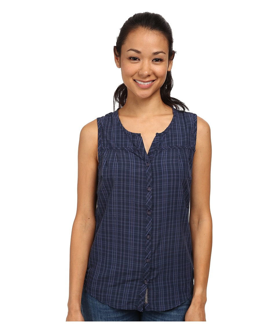 Toad&Co - Lightness Sleeveless Shirt (Deep Navy) Women's Sleeveless