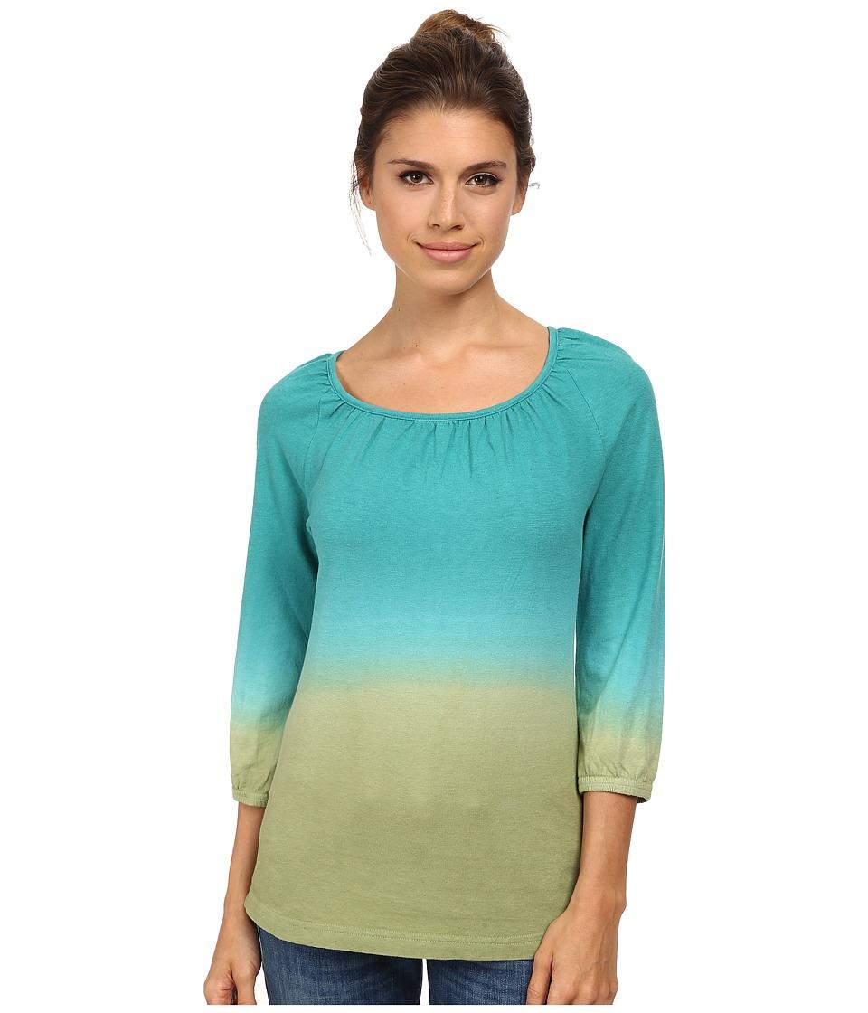 Royal Robbins - Shiva Pullover (Dark Aqua) Women's Long Sleeve Pullover