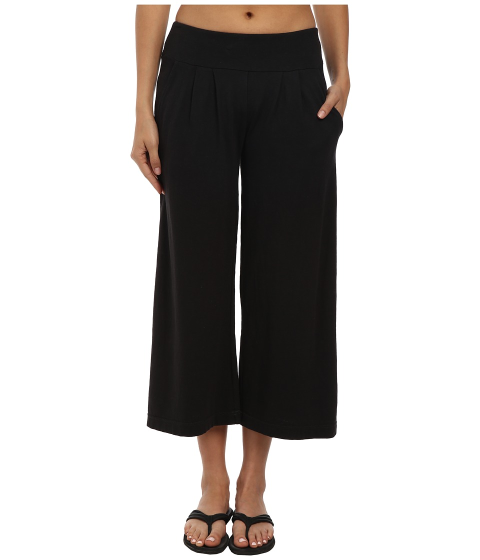 Royal Robbins - Breeze Thru Culotte (Jet Black) Women's Casual Pants