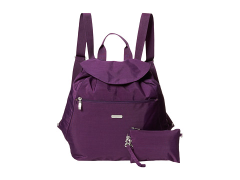 Baggallini - Cinch Backpack (Violet) Backpack Bags
