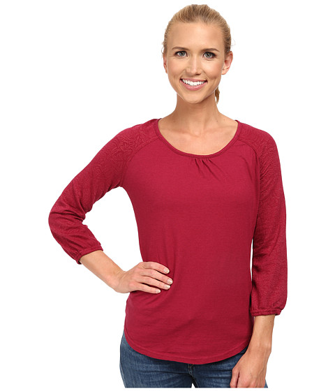 Royal Robbins - Breeze Thru 3/4 Sleeve (Raspberry) Women