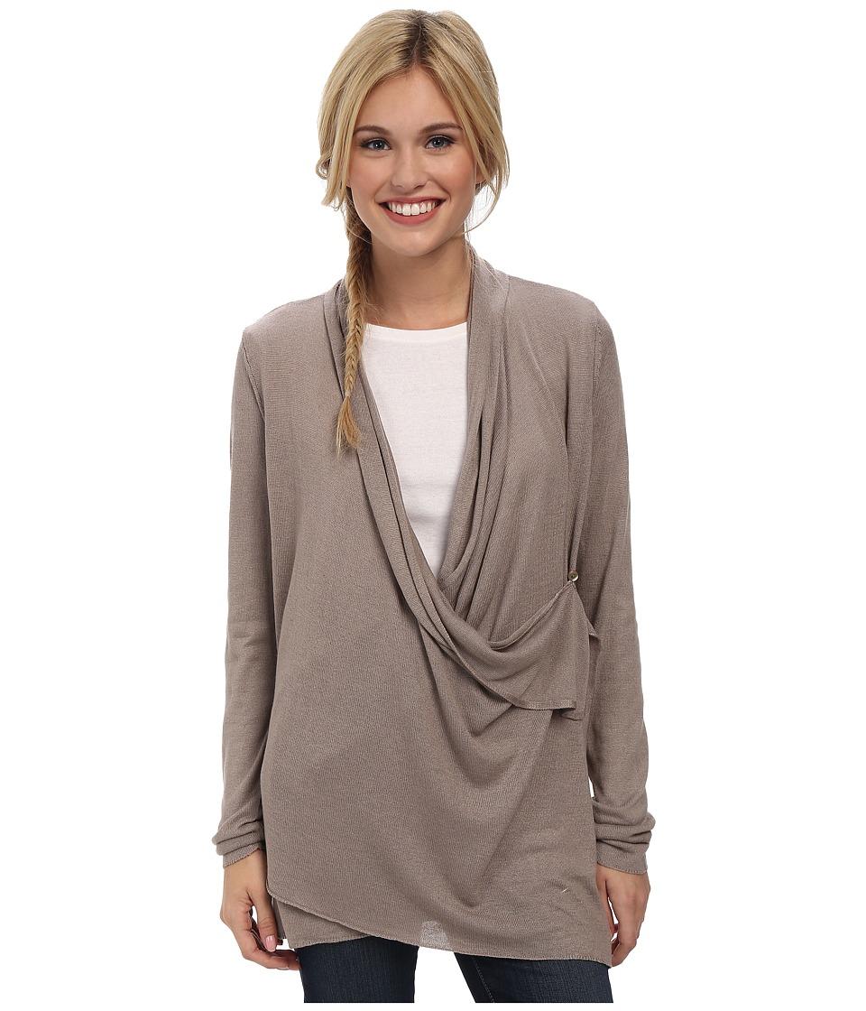 Royal Robbins - Lindsey Wrap Cardi (Light Taupe) Women's Sweater