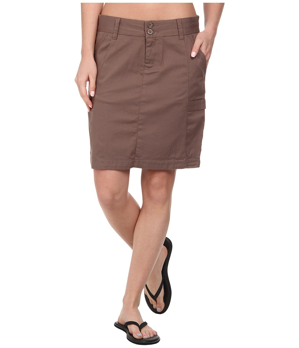 Toad&Co - Essie Skirt (Falcon Brown) Women's Skirt