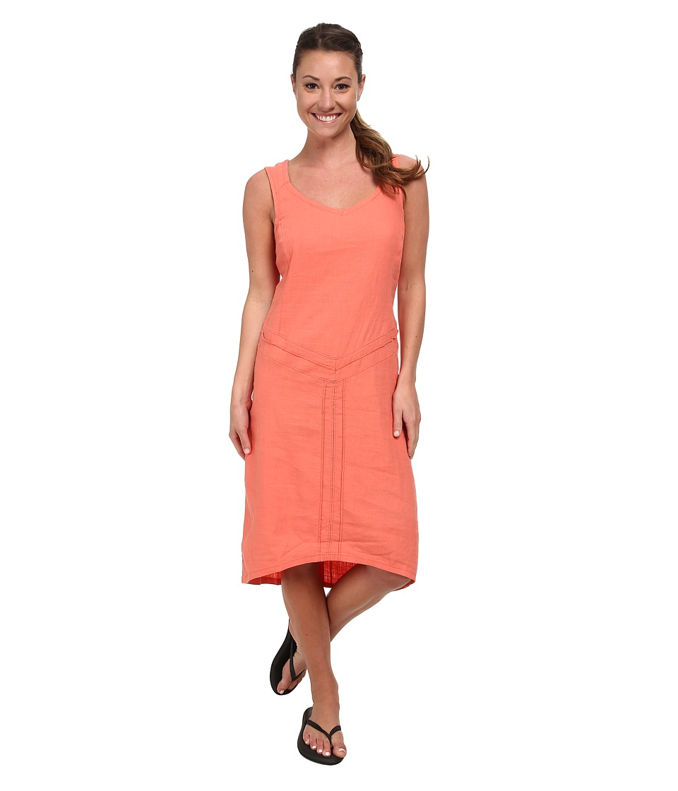 Royal Robbins - Panorama Dress (Persimmon) Women's Dress