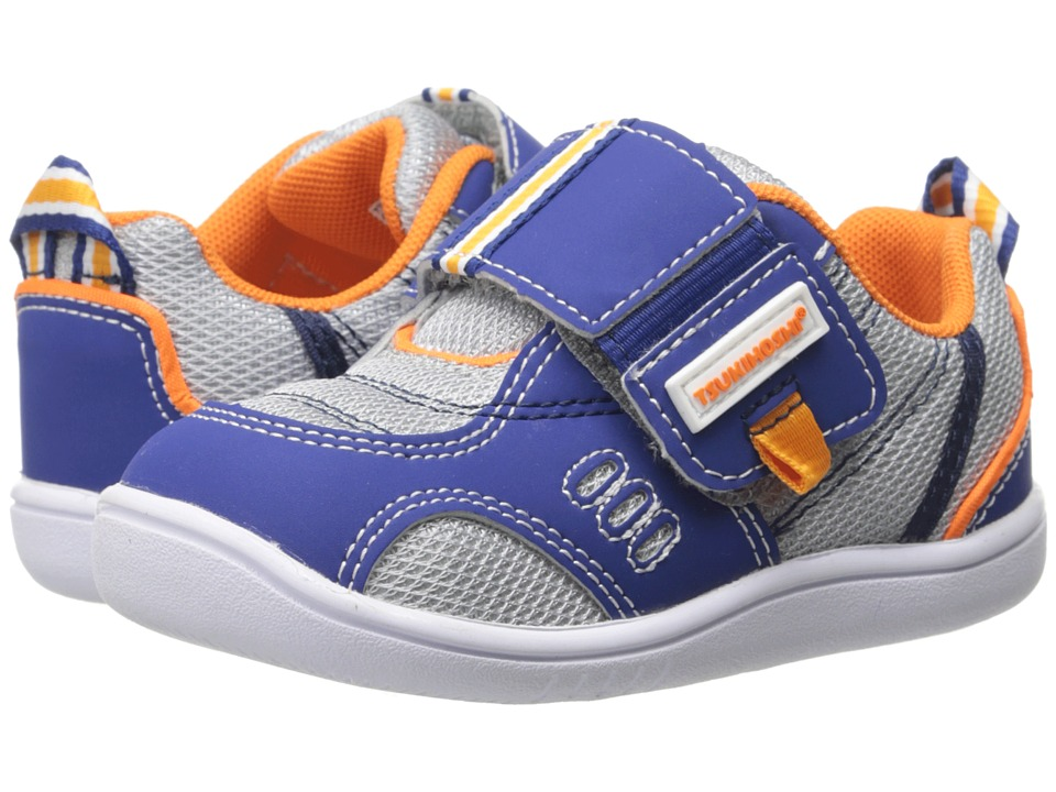 Tsukihoshi Kids - Cali (Toddler) (Cobalt/Gray) Boys Shoes