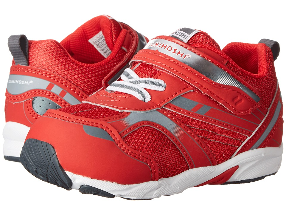 Tsukihoshi Kids - Sport (Toddler) (Red/Gray) Boys Shoes