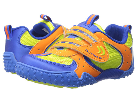 Tsukihoshi Kids - Wheel (Toddler/Little Kid) (Orange/Lime) Boys Shoes