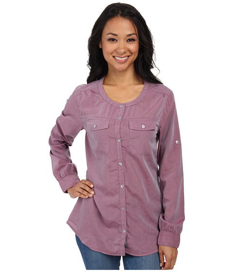 Toad&Co - Beryl L/S Shirt (Magenta) Women's Long Sleeve Button Up