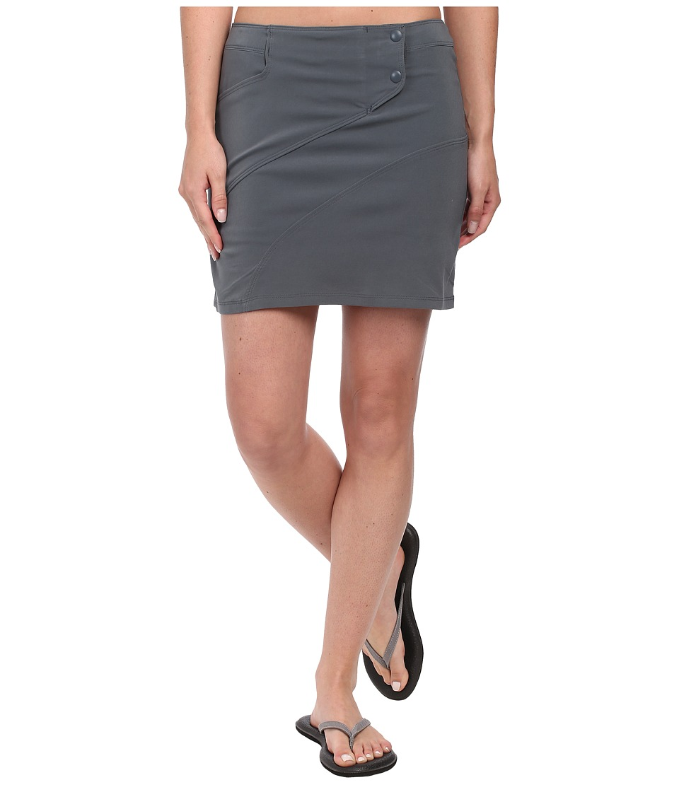 Toad&Co - High Tide Skort (Storm Grey) Women's Skort
