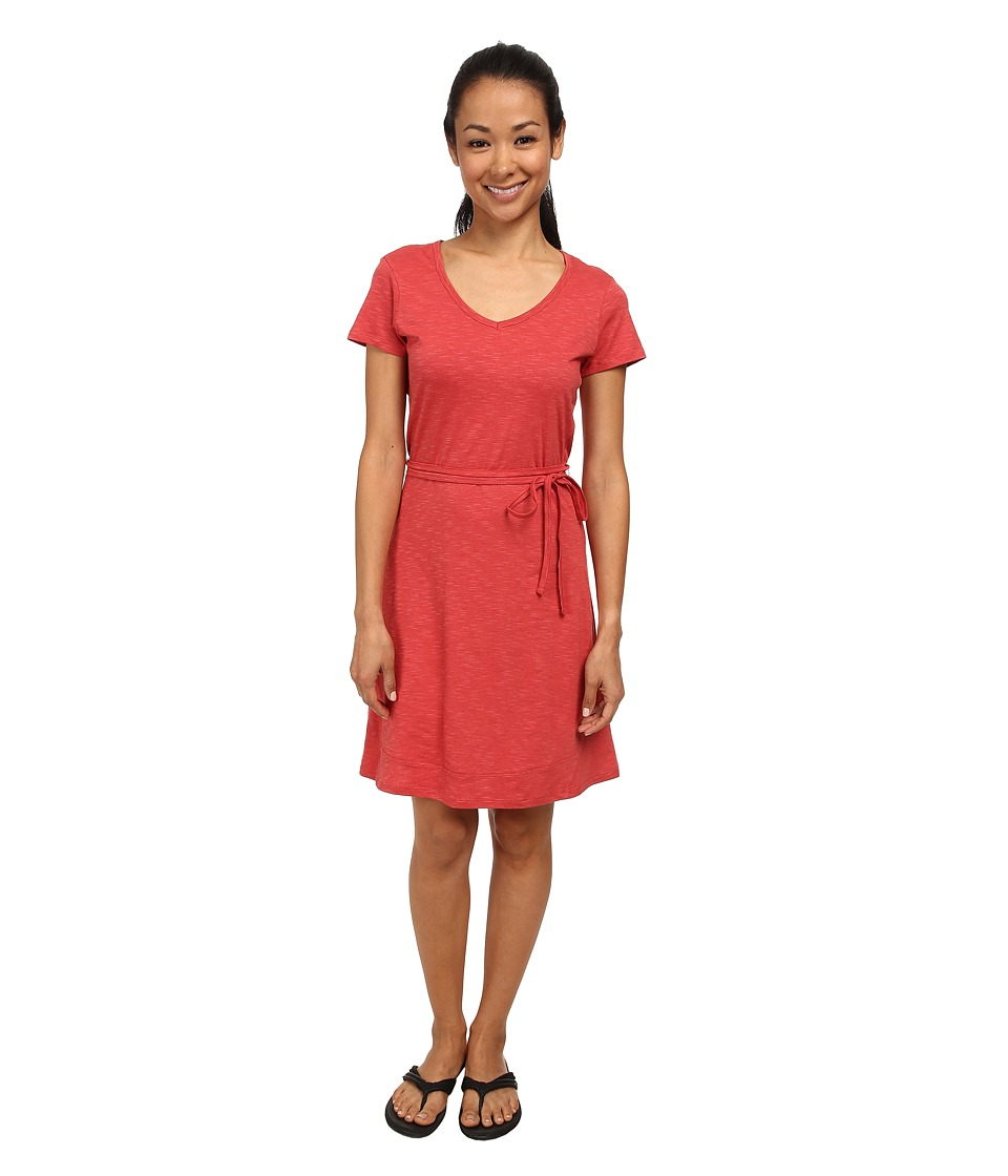 Toad&Co - Marley S/S Dress (Hibiscus) Women's Dress