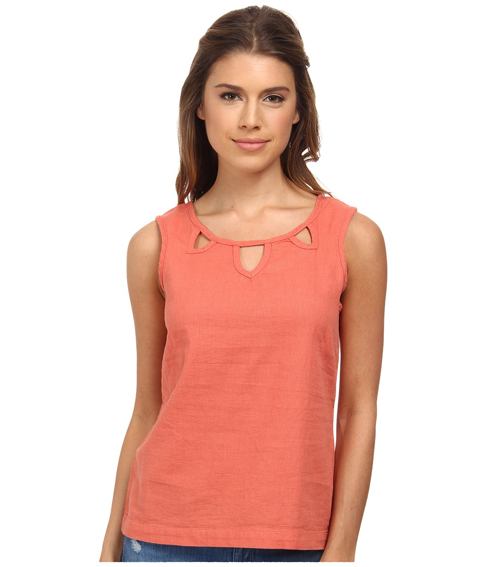 Royal Robbins - Cool Mesh Tank (Persimmon) Women's Sleeveless