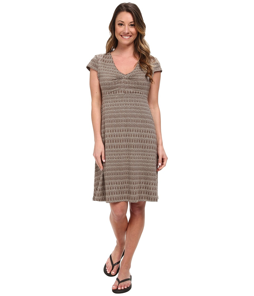 Toad&Co - Rosemarie Dress (Brown Aspen Print) Women's Dress