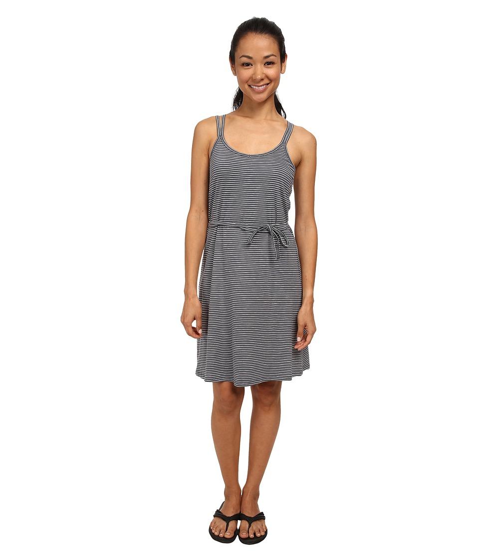 Toad&Co Capellini Dress (Storm Grey Stripe) Women