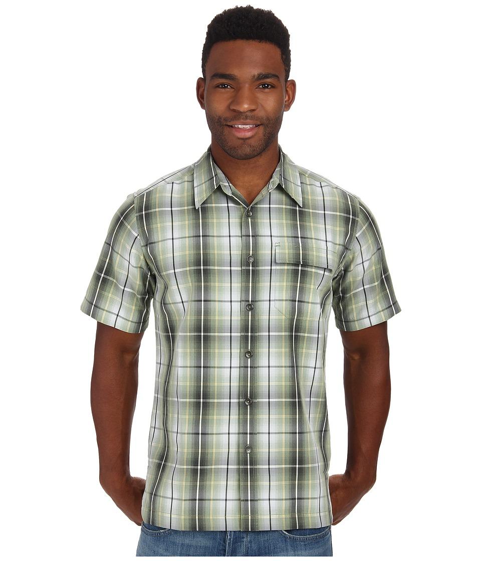 Royal Robbins - Plateau Plaid S/S (Artichoke) Men's Short Sleeve Button Up