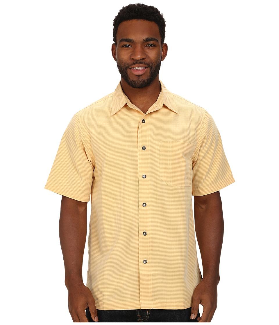 Royal Robbins - Desert Pucker S/S Shirt (Plantain) Men's Short Sleeve Button Up