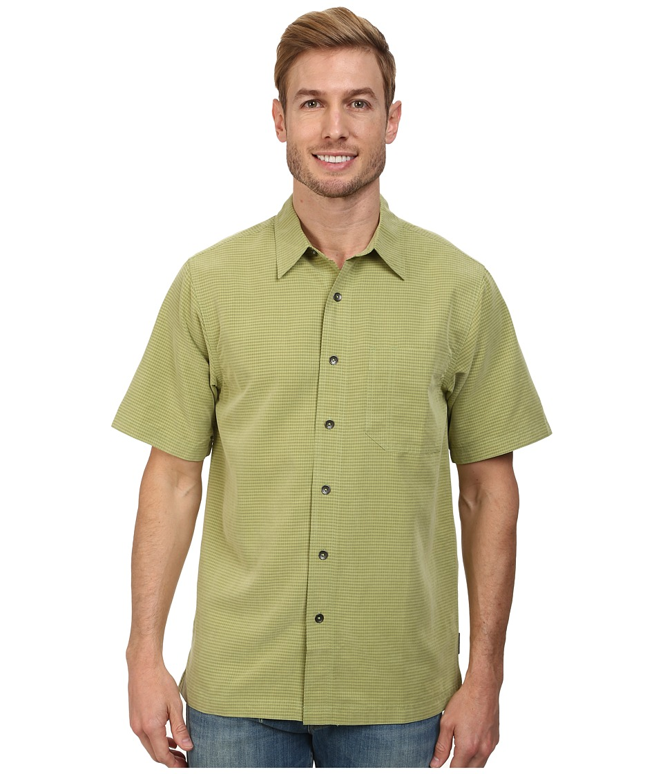 Royal Robbins - Desert Pucker S/S Shirt (Celery) Men's Short Sleeve Button Up