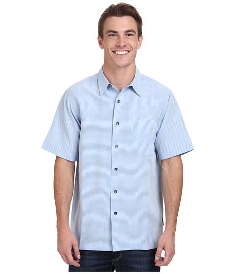 Royal Robbins - Desert Pucker S/S Shirt (Sky) Men's Short Sleeve Button Up