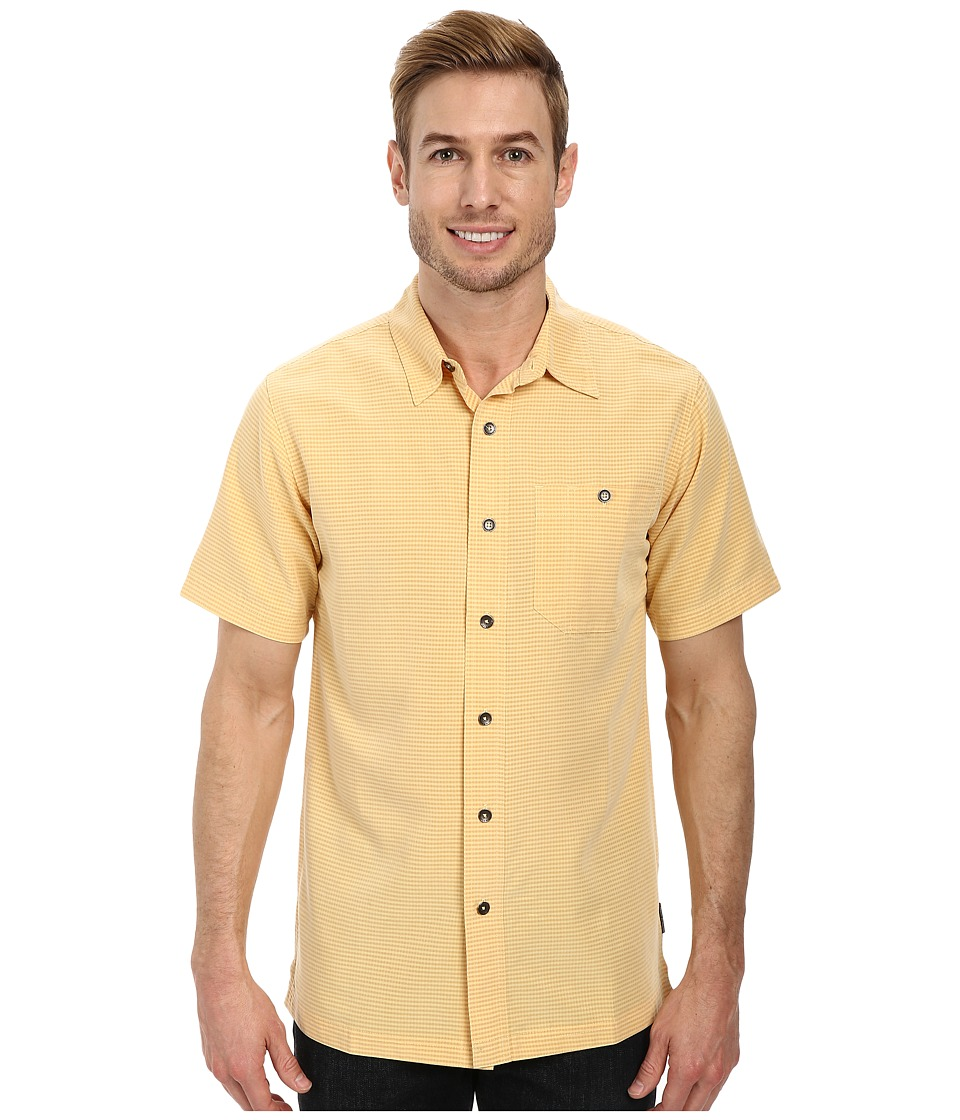 Royal Robbins - Mojave Desert Pucker S/S (Plantain) Men's Short Sleeve Button Up