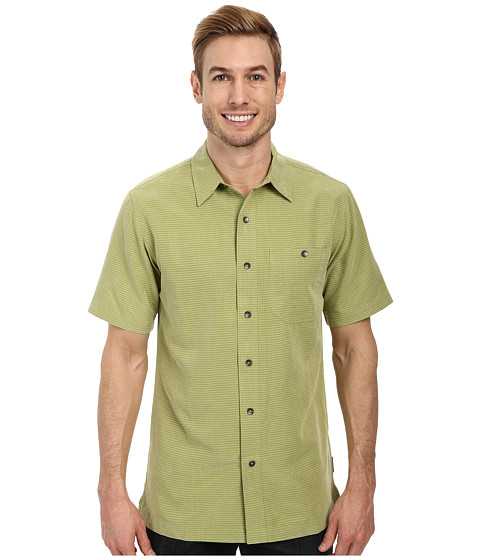 Royal Robbins - Mojave Desert Pucker S/S (Celery) Men's Short Sleeve Button Up