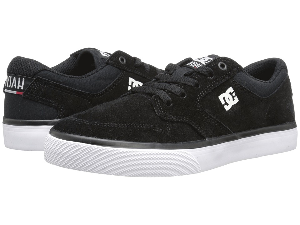 DC Kids Nyjah Vulc (Big Kid) (Black/White) Boys Shoes