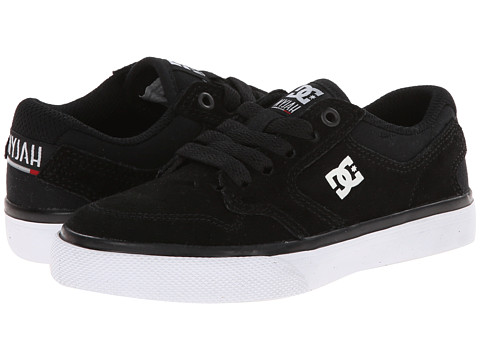 DC Kids - Nyjah Vulc (Little Kid) (Black/White) Boys Shoes