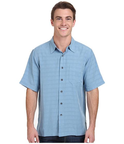 Royal Robbins - San Juan S/S (Scuba Blue) Men's Short Sleeve Button Up