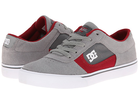 DC Kids - Cole Pro (Big Kid) (Grey/Grey/Grey) Boys Shoes
