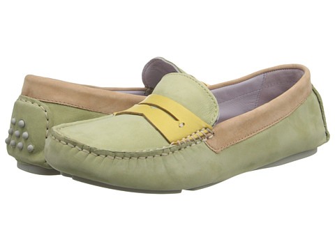 Johnston & Murphy - Maggie Penny (Moss Multi Nubuck) Women