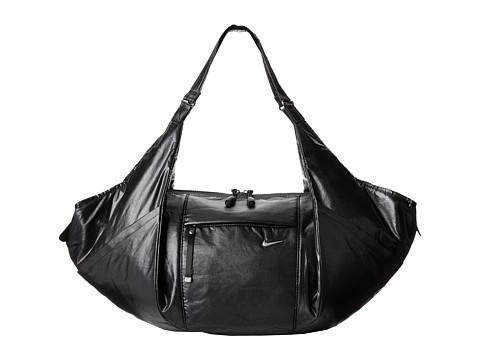 Nike - Victory Gym Tote (Black/Black/Metallic Silver) Tote Handbags