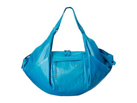 Nike - Victory Gym Tote (Blue Lagoon/Blue Lagoon/Metallic Silver) Tote Handbags