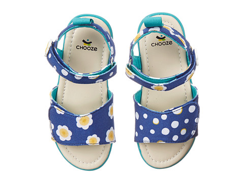 CHOOZE - Happy (Toddler/Little Kid) (Be Good Navy) Girls Shoes
