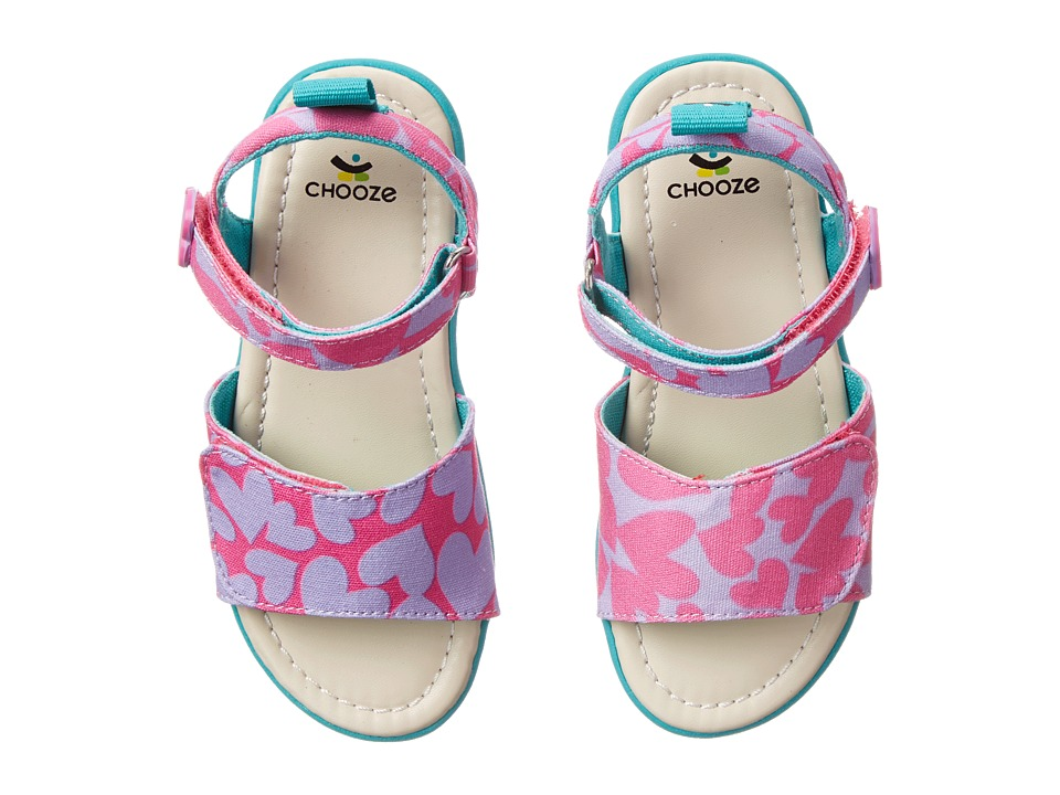 CHOOZE - Happy (Toddler/Little Kid) (Hug) Girls Shoes