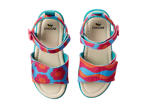 CHOOZE - Happy (Toddler/Little Kid) (Wave) Girls Shoes