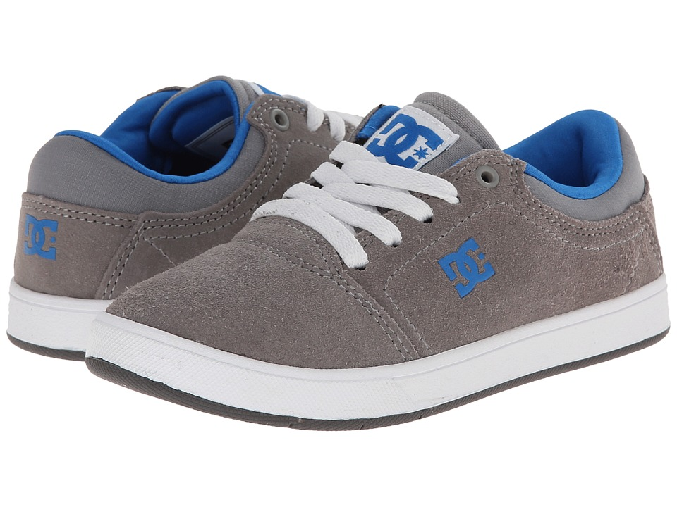 DC Kids - Crisis (Big Kid) (Grey/Blue) Boys Shoes