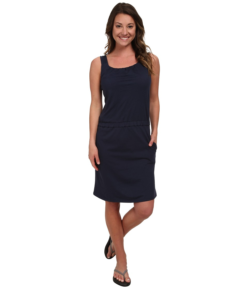 Toad&Co - Shirred Thing Dress (Deep Navy) Women's Dress