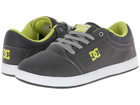 DC Kids - Crisis TX (Big Kid) (Battleship) Boys Shoes